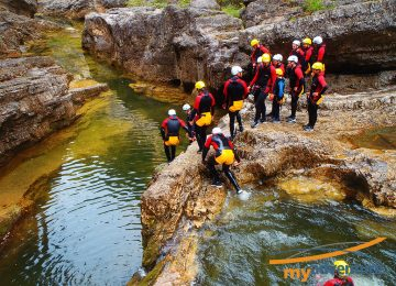 Canyoning my adventure