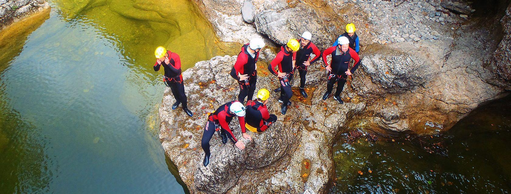 Canyoning finde dein Abenteuer