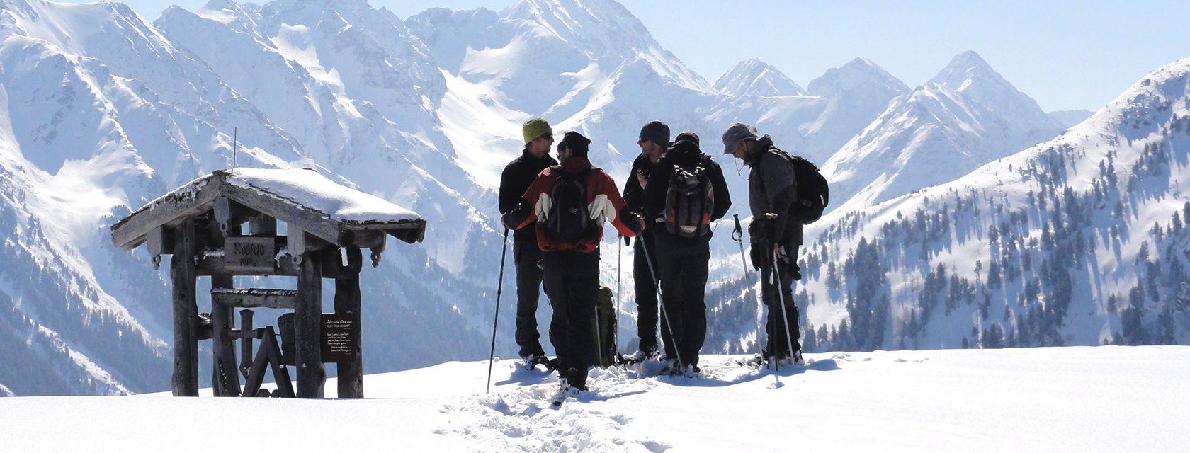 Schneeschuhwandern Rossfeld Schladming Dachstein