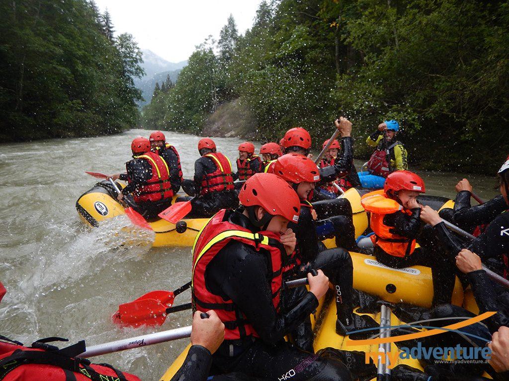 Rafting my adventure